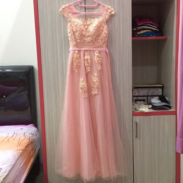 DRESS SOFT PINK PASTEL (PINK SALEM)