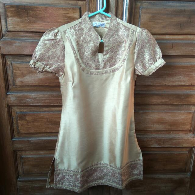 Dress Tunik Gold