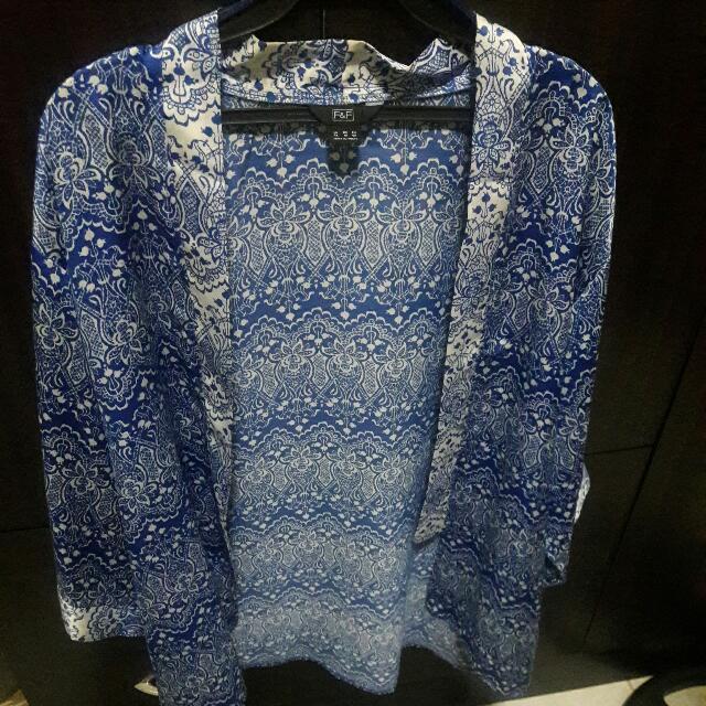 F&F Silk Kimono