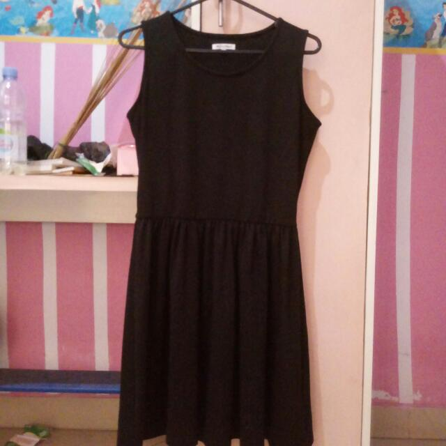 Colorbox flare dress