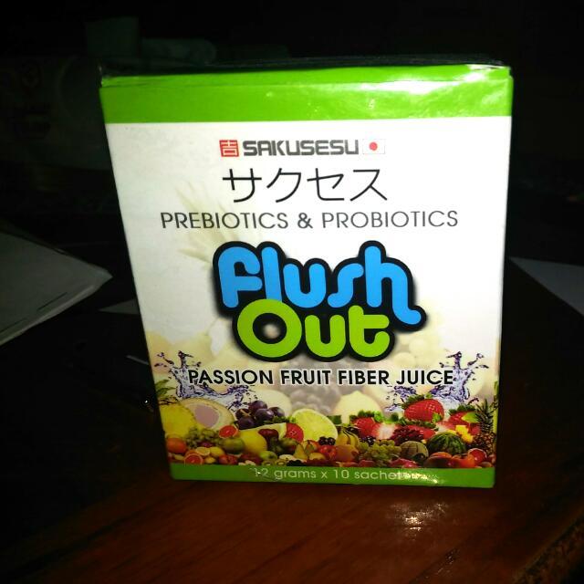 Flush Out-fiber juice