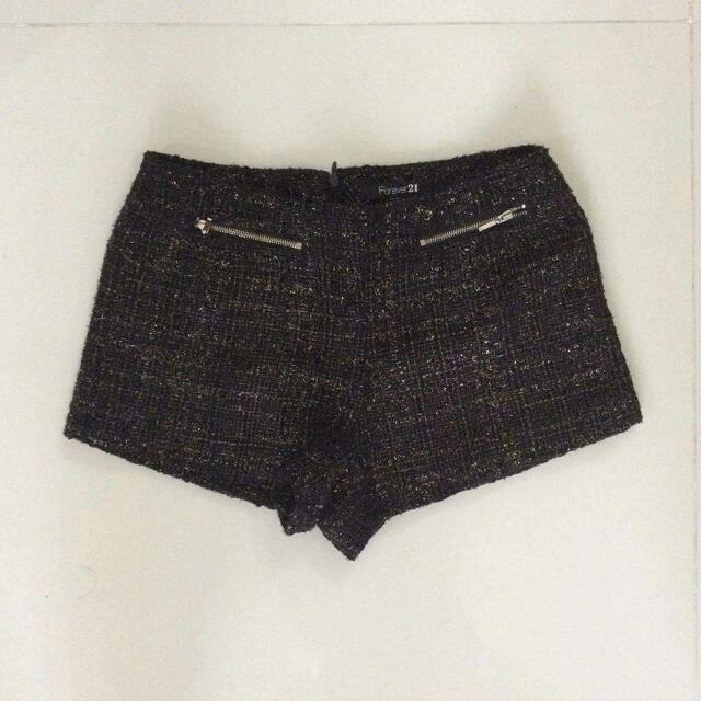 Forever21 Tweed Shorts Small