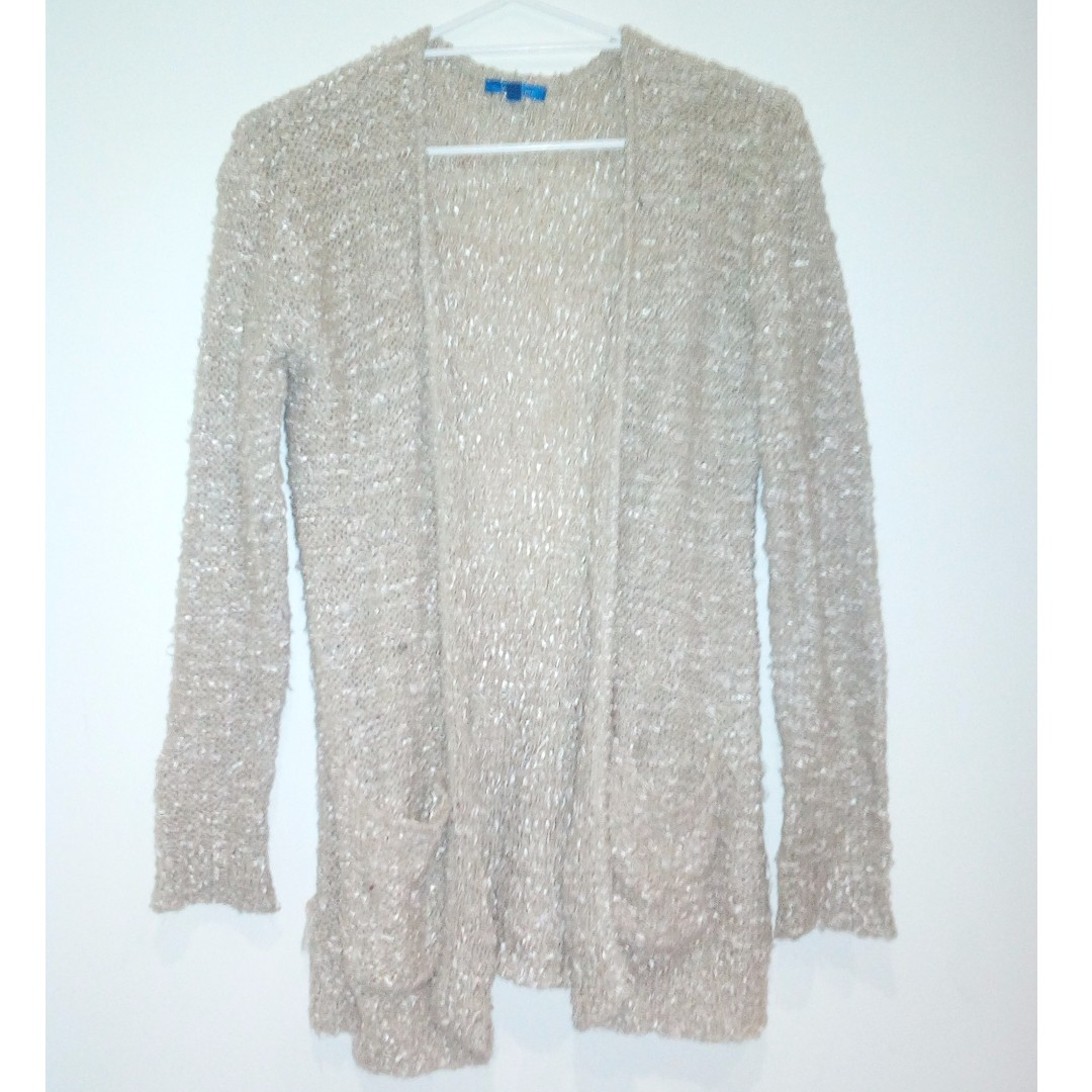 Gold Cardigan Size Small