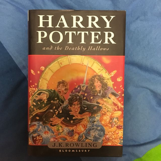 Harry Potter Hard Cover Book