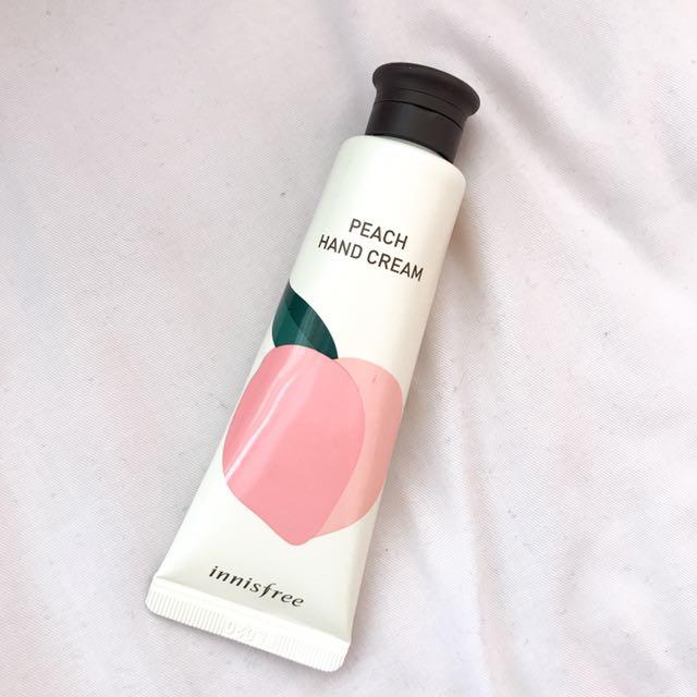 Innisfree Peach Hand Cream 30ml