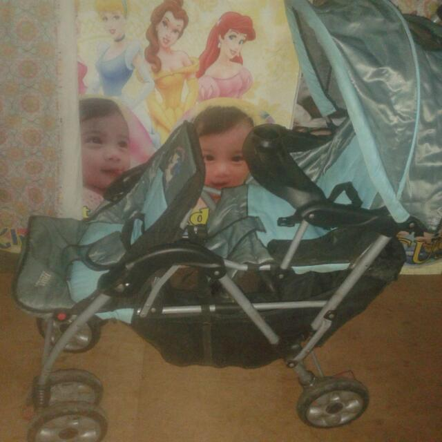 Irdy Double Chair Stroller