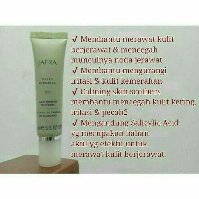 JAFRA CLEAR BLEMISH TREATMENT 100% ORIGINAL