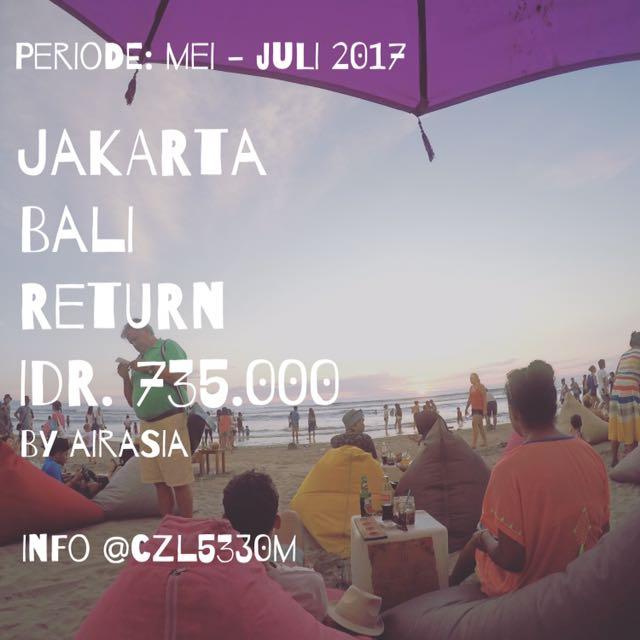 Jakarta- Bali PP