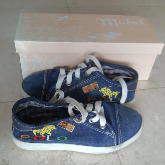 Jeans Sneakers Size 36