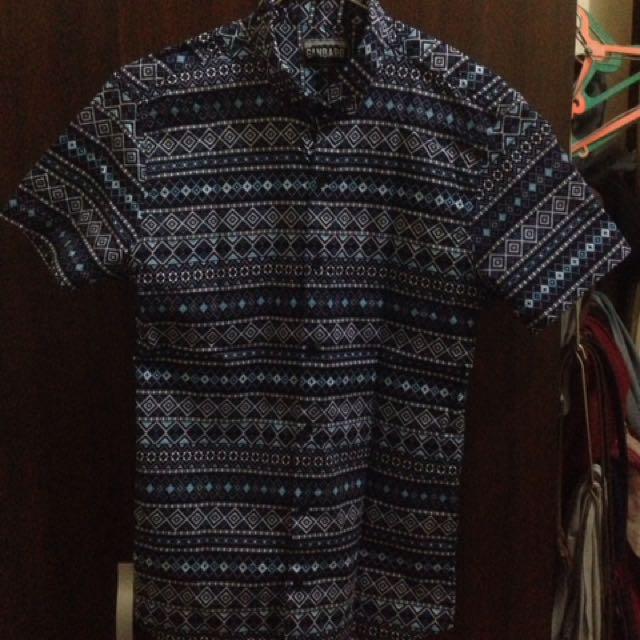 Kemeja Batik Songket