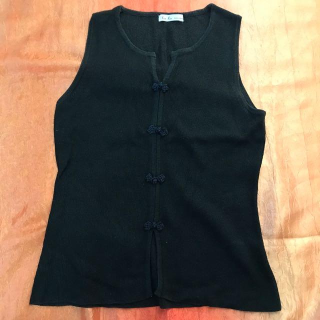 Koko Fashion Black Sando
