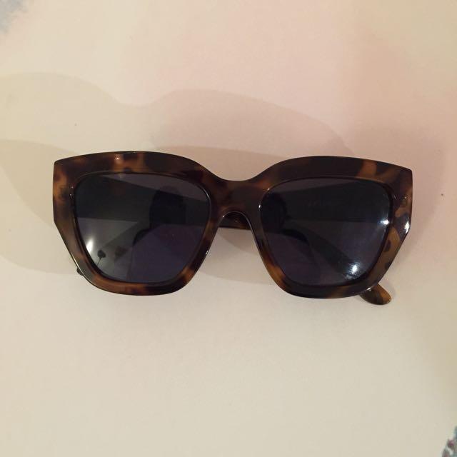 Le Specs Tortoise Shell Sunglasses