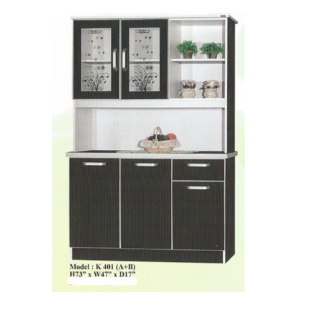 Lelong Perabot Murah Almari Dapur Model K401 Home Furniture On Carou