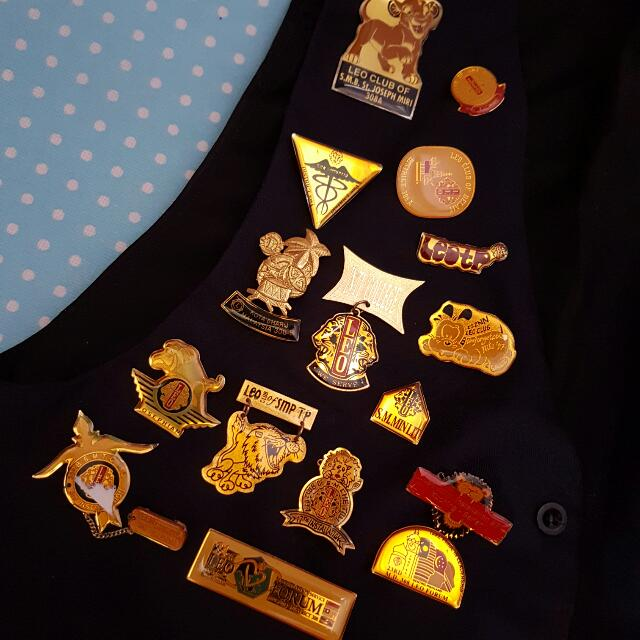 Leo Club Badges👍 Collections😎