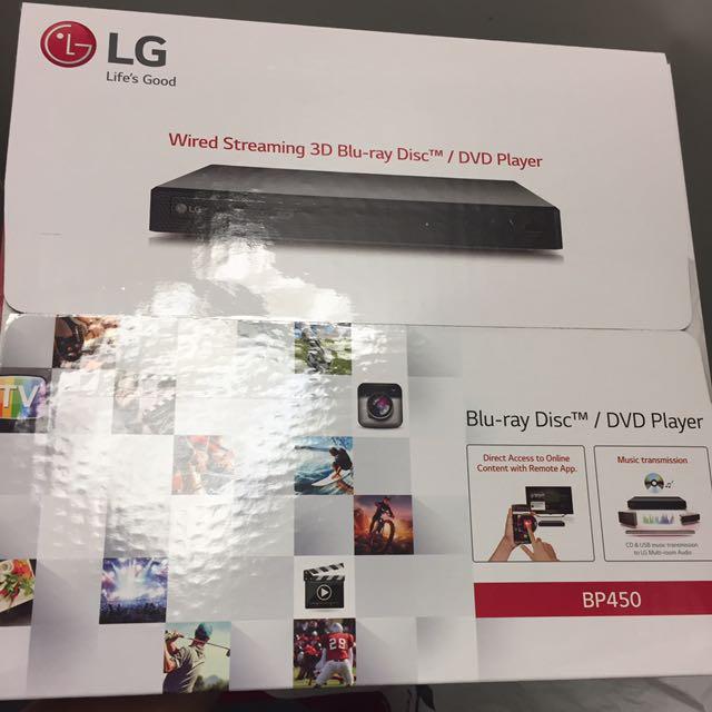 LG BP 540 Bluray DVD Player