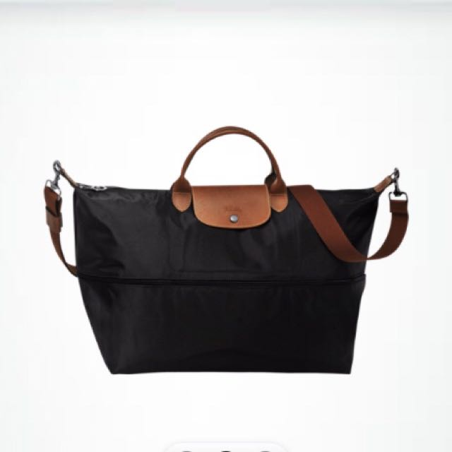 Longchamp加大行李袋