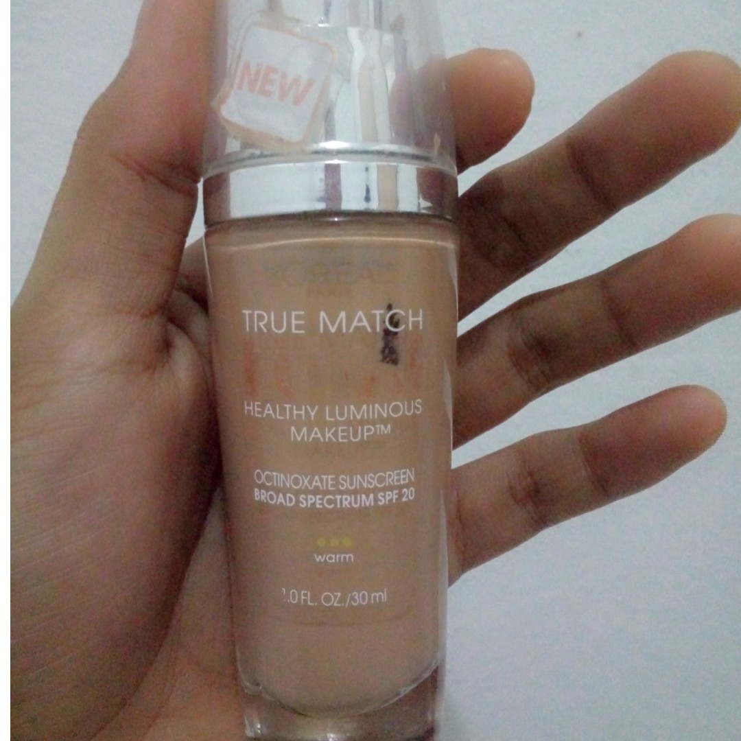 loreal lumi true match foundation