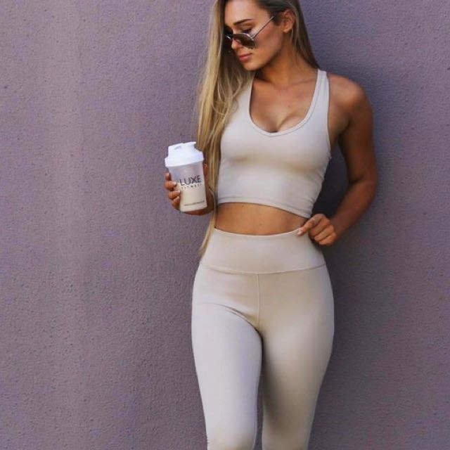 Luxe Fitness Set - Top 8, Bottoms 6