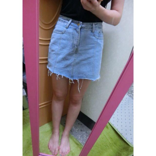 牛仔褲裙/m號
