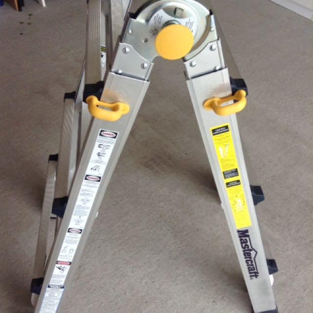 MasterCraft Multitasking Ladder