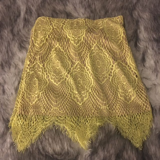 Mendocino Lacey Skirt
