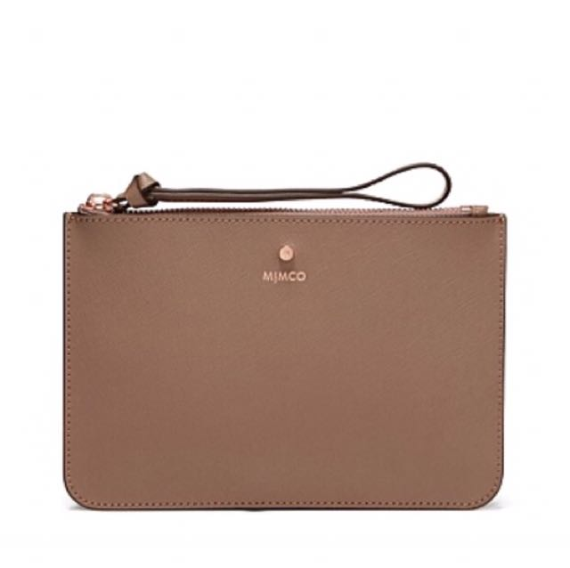 MIMCO supermicra Pouch Birch Rose Gold