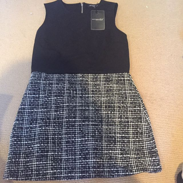 Missguided, Tweed Skirt, Size 14 Dress