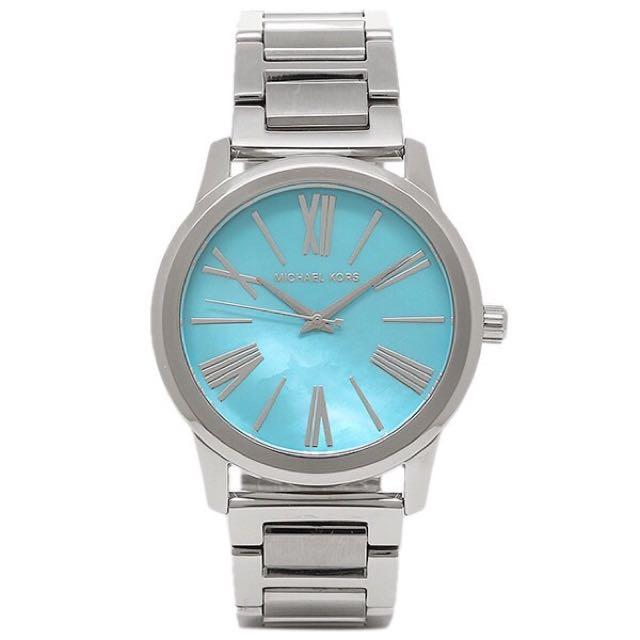Mk3519 Michael Kors 天空藍錶面手錶