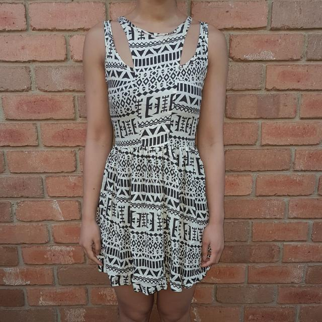 Mossman Patterned Dress