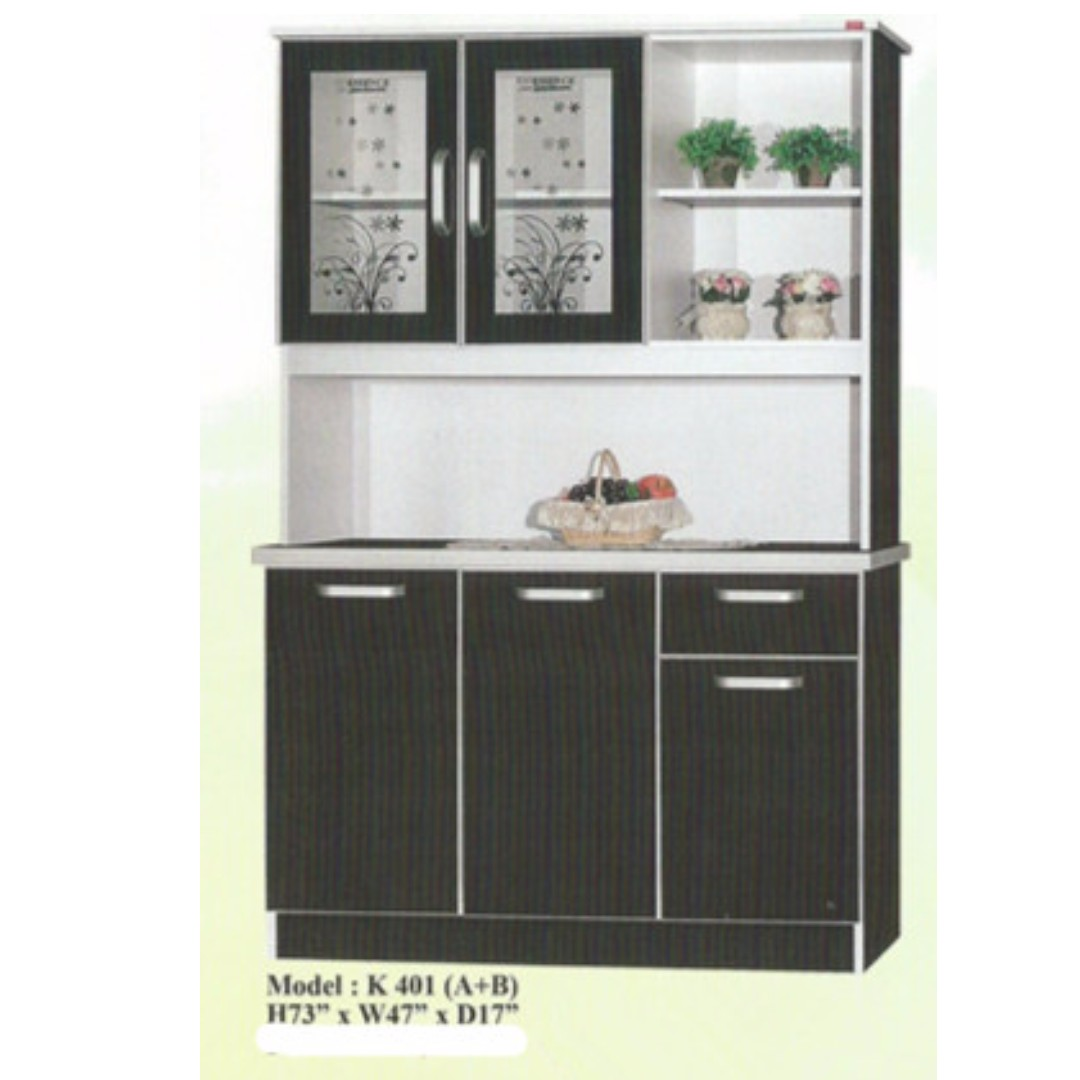 Murah Almari Dapur Model K 401 Home Furniture On Carou