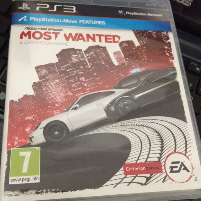 Need For Speed Most Wanted 2012 Ps3 Toys Games Video Gaming