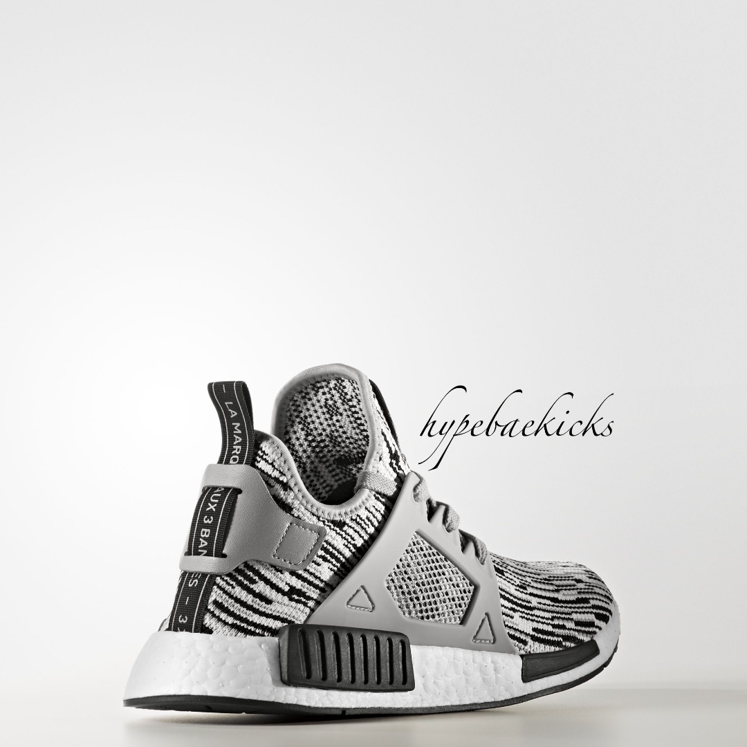 NEW  Adidas NMD XR1 PK Oreo Glitch in Grey   White edcdd8cf6