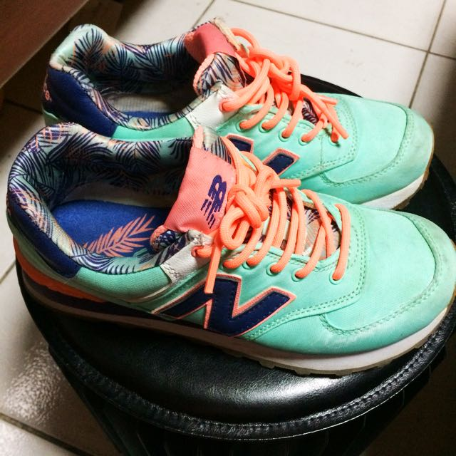 New Balance WL574 Island Pack慢跑鞋