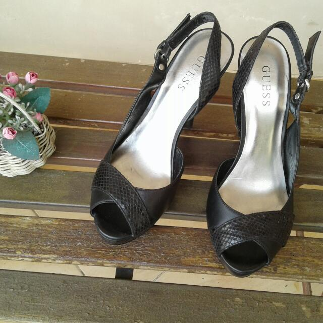 REPRICE❤Ori Guess High Heels Size 8(39)