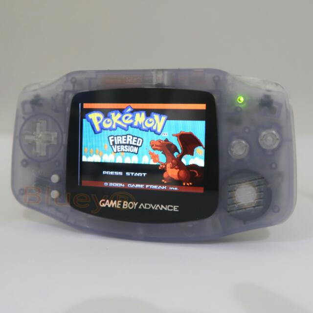 Nintendo Original Gameboy Advance AGB-001 With AGS-101