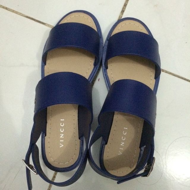 Original Vincci Sandals Blue Size 36