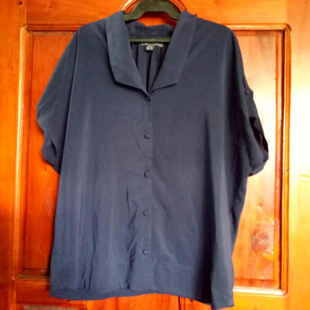 Oversize Polo Shirt for Women