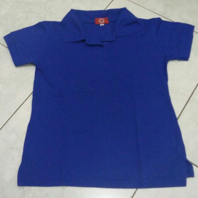 Polo Shirt - Biru