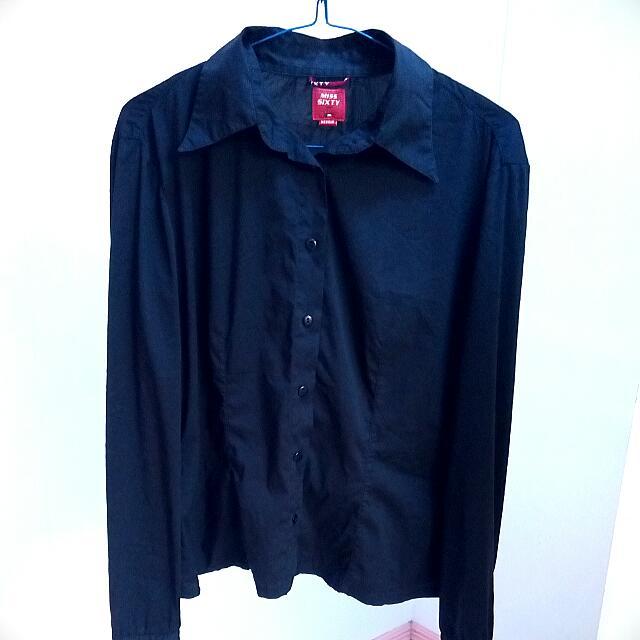 Preloved Black Polo Shirt