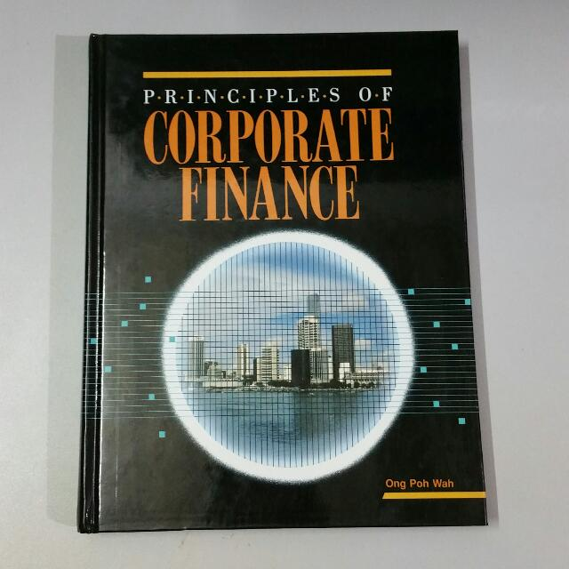 Principles Of Corporate Finance Book