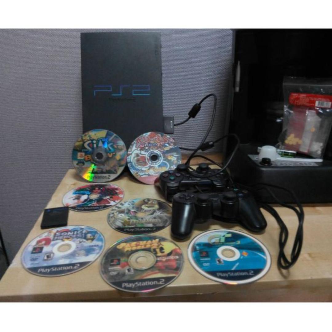 正版PS2遊戲軟體.7片只要800元----主機已售出了