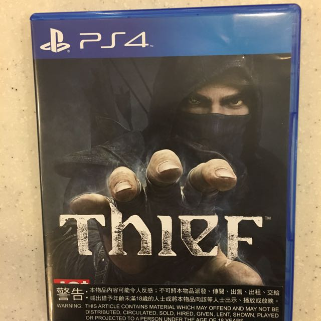 PS4 Game : Thief