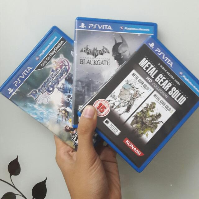 Psv Psvita Ps Vita Games