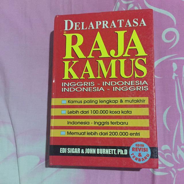Raja Kamus Inggris - Indonesia & Indonesia - Inggris