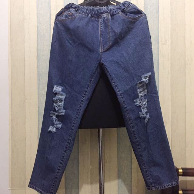 [NEW] Ripped Jeans M