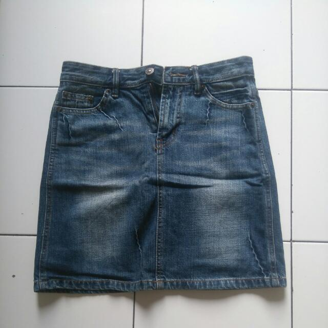 Rok Jeans Mini