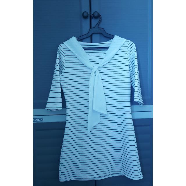 Sailor Style Shirtdress