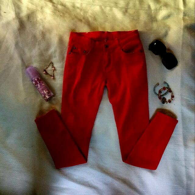 Sale!!  Red Pants!