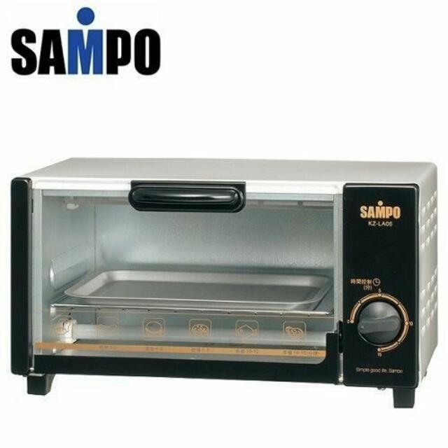 SAMPO聲寶6公升定時電烤箱(KZ-LA06)/含運