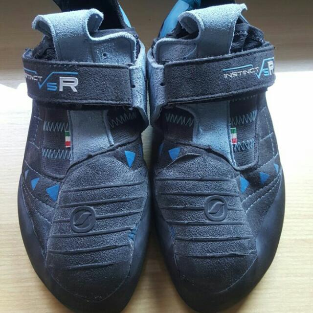 b3962a1179 ... Scarpa Instinct VSR Climbing Shoes black turquoise at Addnature. Scarpa  ...